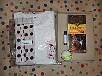 Подарочный женский набор с пижамой и приятностями в коробке №1