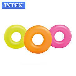 Надувной круг для плаванья (3 цвета), 91 см