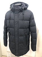 Куртка мужскаяз зимняя DSG dong 6527L 58 Черная