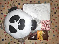 Подарочный женский набор с пижамой и приятностями в коробке №3