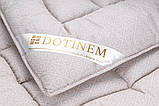 Одеяло 175х210 Двуспальное SAXON Сатиновое Хлопковое Шерстяное Зимнее Теплое Не скатывается, фото 3
