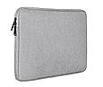 Чехол для Macbook Air/Pro ASUS/ DELL/HP/XIAOMI та ін 12/13,3''/14,1''/15,4'' - серый, фото 2