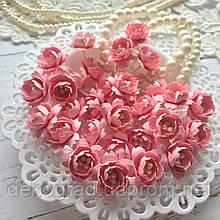 Цветы Сливы 25мм Розовый с тычинками