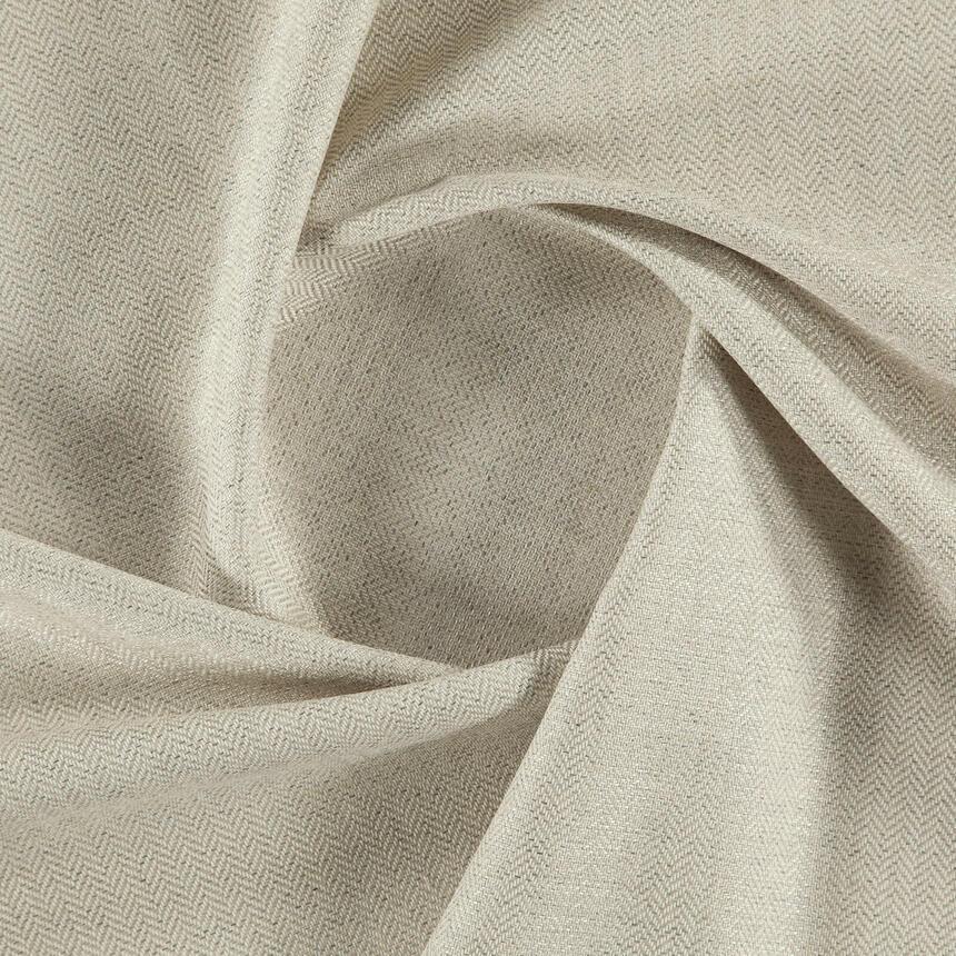 Ткань для обивки мебели рогожка Кафе Лунго (Cafe Lungo) молочного цвета