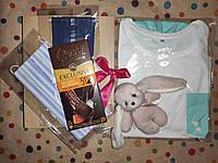 Подарочный женский набор с пижамой и приятностями в коробке №5