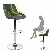 Высокий стул со спинкой Хокер, стульчик для визажа, барные стулья HC 1054W