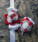 Набор экслюзивных бутоньерок на свадьбу, фото 6