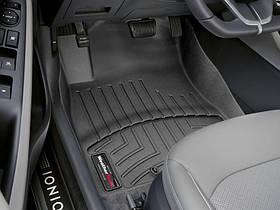 Ковры резиновые WeatherTech Hyundai Ioniq 2015+ передние черные