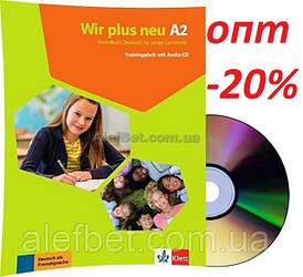 Немецкий язык / Wir neu / Trainingsheft+CD. Тесты к учебнику с диском, A2 / Klett