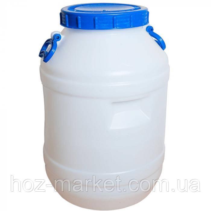 Бочка харчова пластикова 60л, горловина 221мм