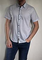 Чоловіча сорочка FORS-TIME світлого кольору ,приталена, молодіжна. Турція
