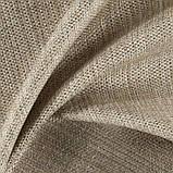Ткань для обивки дивана рогожка Кафе Лече (Cafe Leche) светло-коричневого цвета, фото 3