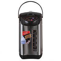 Термопот чайник-термос стальной Domotec 6 литров (MS 6000) из нержавейки, фото 1