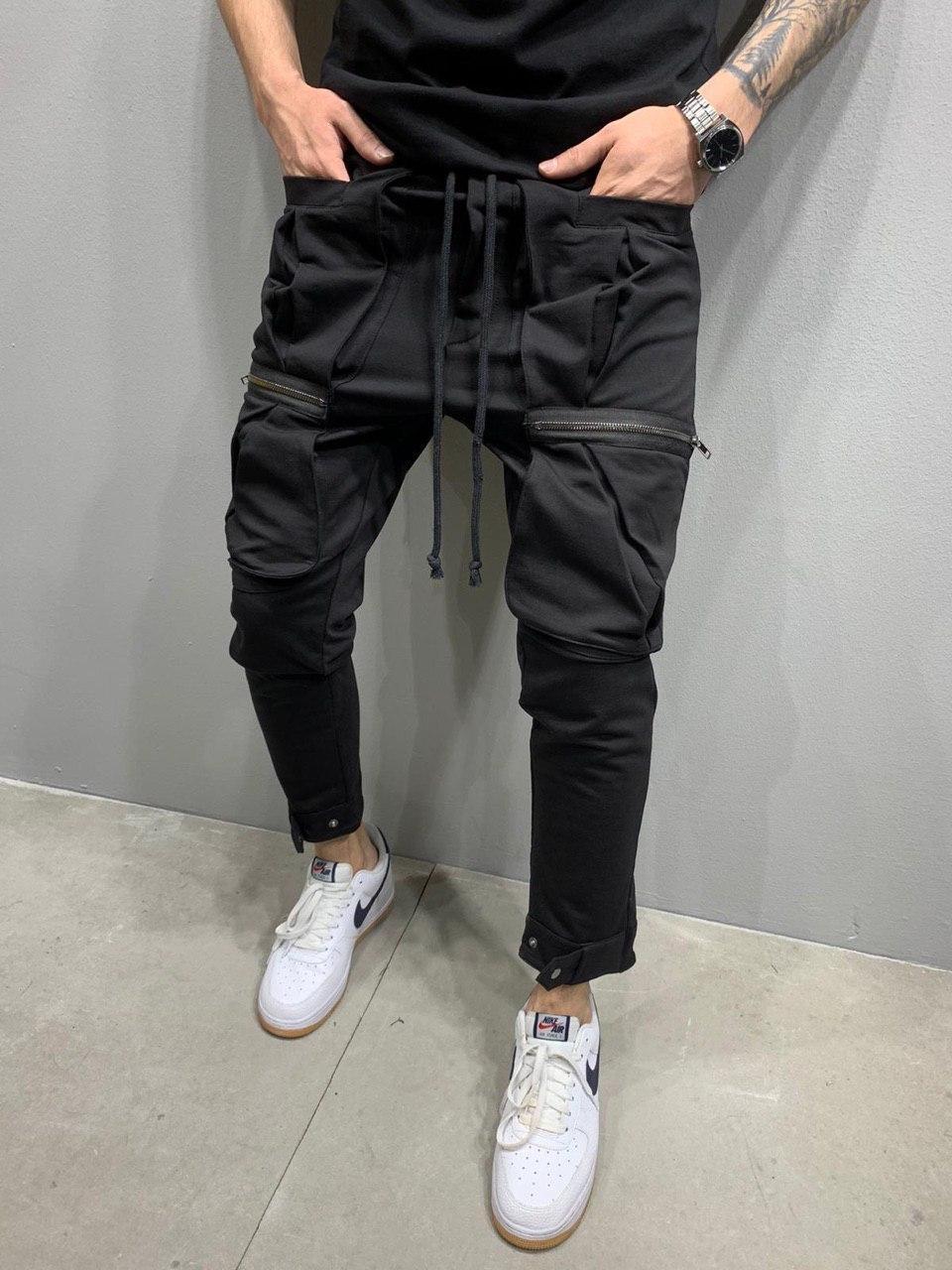 Чоловічі спортивні штани 2Y Premium 5151 чорні