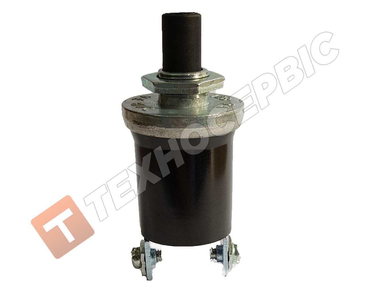 Выключатель кнопка пусковая 12-24В 5 ампер ВК-322