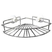Угловая полочка в ванную на присоске SKL11-132836