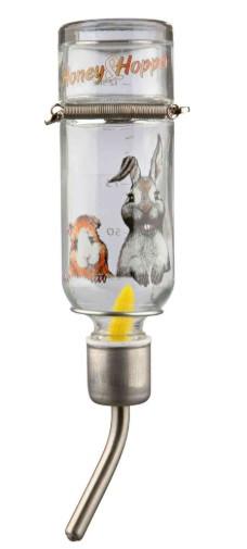 Поилка для грызунов Honey&Hopper стекло, 125 мл, trixie