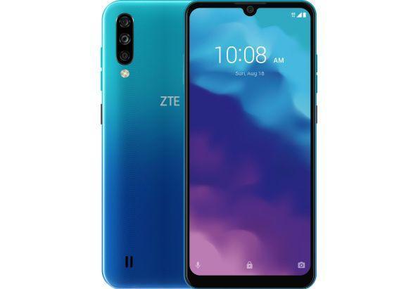 """Смартфон ZTE Blade A7 2020 с тройной камерой с распознаванием лица и большим экраном 6,1"""" 2/32Gb синий"""