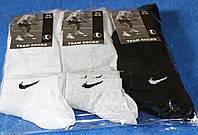 Носки мужские спортивные (короткие) в стиле Nike 42-45 размер,черный,серый,белый. 12 пар.