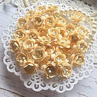 Цветы Вишни 25мм Кремовый с тычинками