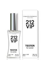 Тестер женский Carolina Herrera 212 VIP, 60 мл. ( Каролина Эррера 212 Вип Голд )