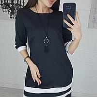 Женское платье стильное норма и батал, фото 1