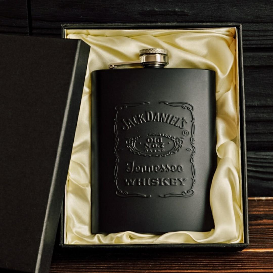 """Фляга из нержавеющей стали """"Jack Daniels"""", 240 мл"""