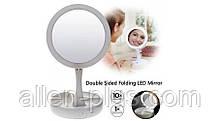 Зеркало для макияжа с подсветкой складное Mirror My fold Away JG-988