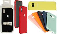 Накладка Silicone Cover Full Xiaomi Redmi Note 8 (черный)
