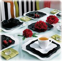 "Сервиз столовый 38 предметный ""Authentic Black&White""., фото 1"