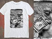 """Мужская футболка с принтом """"Bad money"""""""