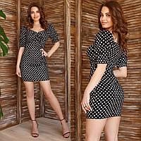 Женское платье короткое.Размеры:42,44,46.+Цвета