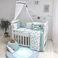 Дитяча постіль Маленька Соня Baby Design Stars