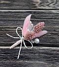 Бутоньерка из лагуруса в разных цветах, фото 6