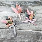 Бутоньерка из лагуруса в разных цветах, фото 7