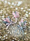 Бутоньерка из лагуруса в разных цветах, фото 3