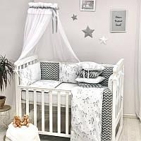 Дитяча постіль Маленька Соня Baby Design Єдиноріг