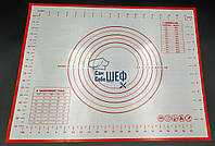 Профессиональный силиконовый коврик для раскатки теста GA Dynasty 21013