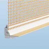 Профиль примыкающий для оконых рам и дверных откосов Capatect Laibungsprofil, 6мм, 2,4м
