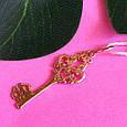 Золотой ключик кулон - Подвеска Ключ из золота, фото 4