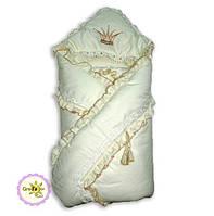 Плед-конверт для новорождённого Версаль GreTa Lux