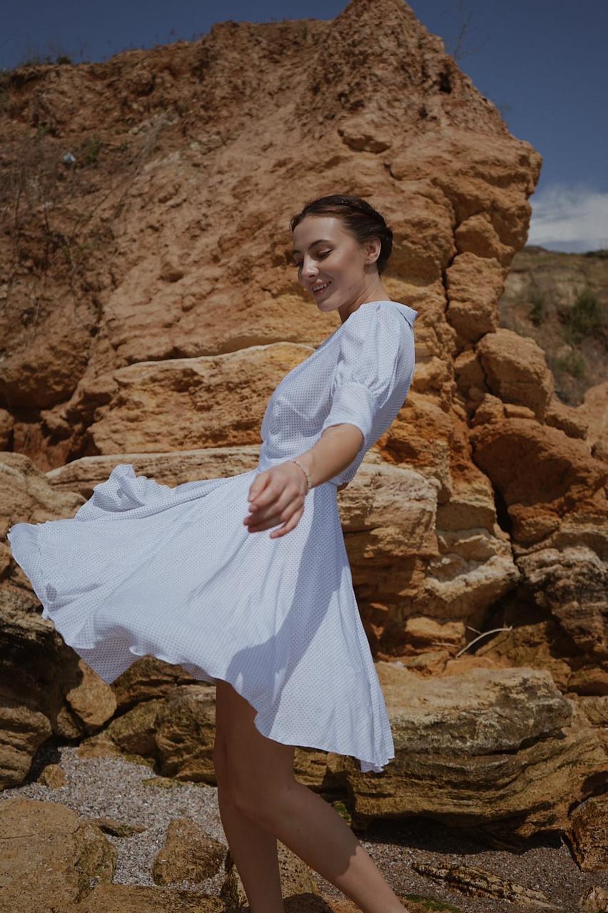 Платье Горошек 05227
