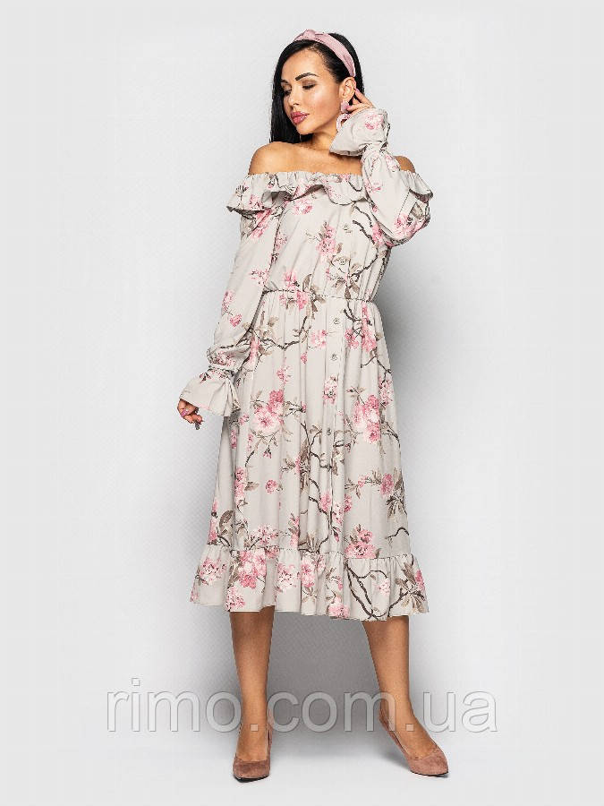 Сукня міді Мейджик (4 кольори)