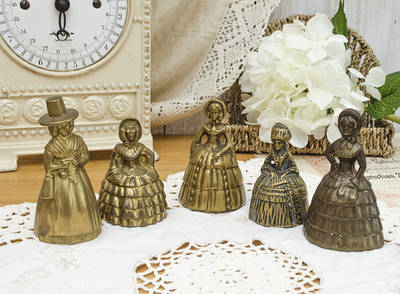 Старинные, коллекционные колокольчики