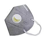 Защитная маска респиратор с фильтром, фото 2