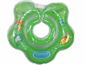 LN-1561 Круг для купання немовлят зеленый