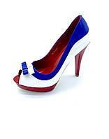 Открытые туфли яркие стильные, фото 1