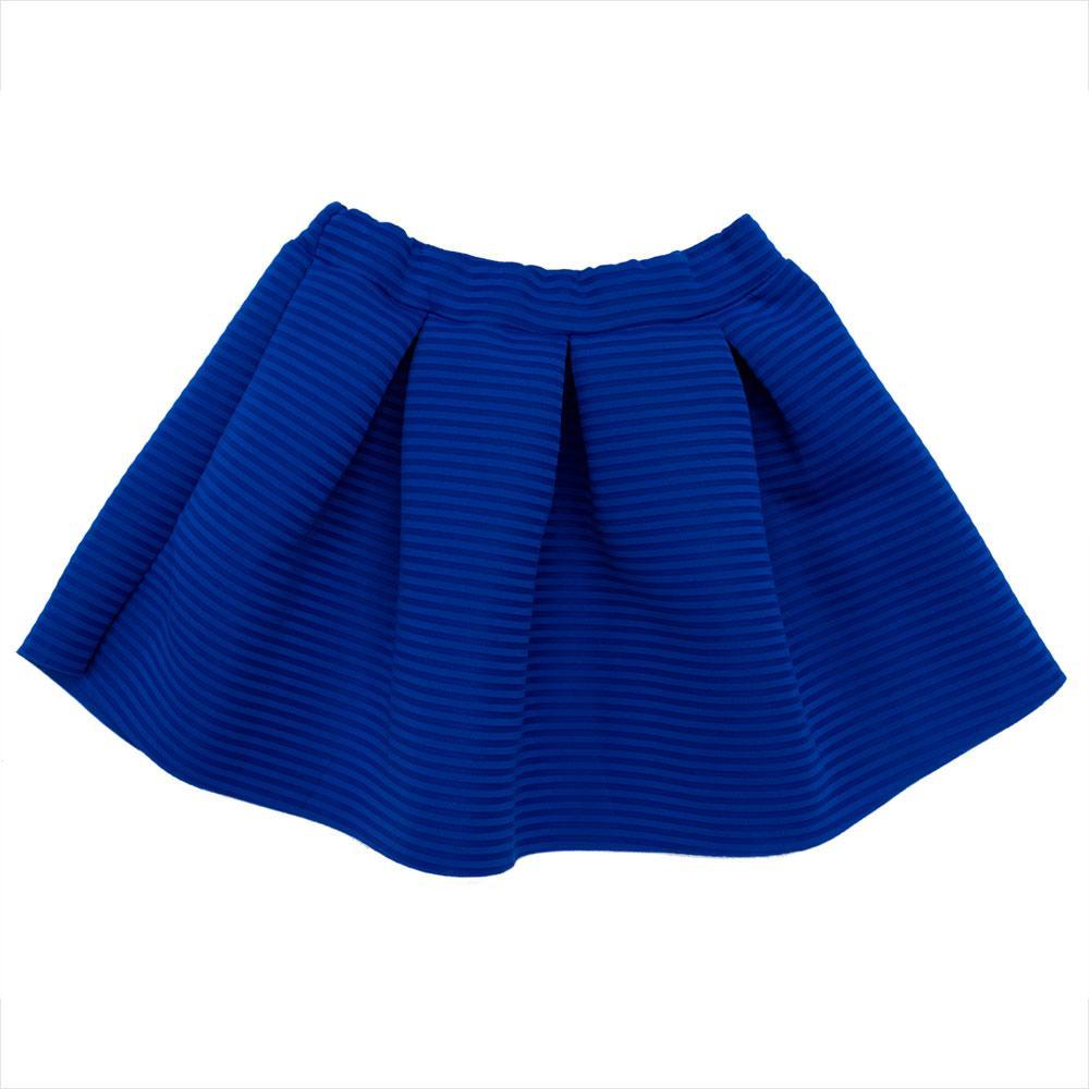 Юбка для девочек Dr moda 146  синяя 1392