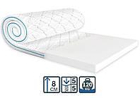 Безпружинний матрац Супер Флекс жаккард / Super Flex жаккард Sleep&Fly ортопедичний тонкий міні-матрац, фото 1