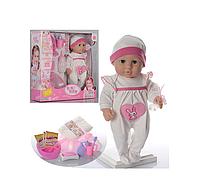Кукла пупс беби борн Baby Toby: как настоящий карапуз поет песню, ходит на горшок, пьет из бутылочки